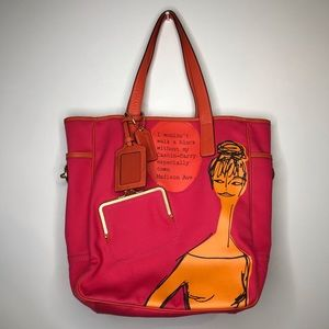 Coach RARE Cashin-Carry Limited Edition Tote Bag
